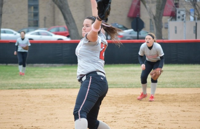 Senior Megan Nonnemacher - 2014 Capital One Academic All-American of the Year for College Division Softball Team
