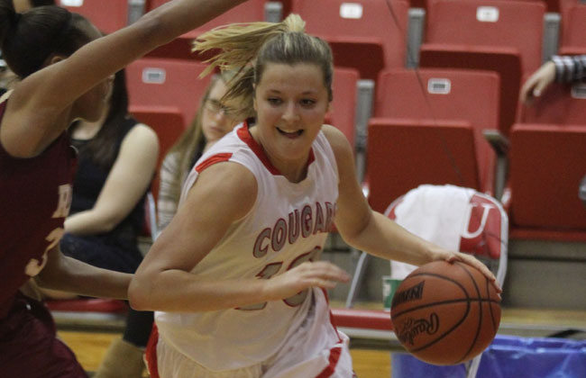 Saint Xavier's Morgan Stuut was named the CCAC Women's Basketball Player of the Year for the second time on Saturday.