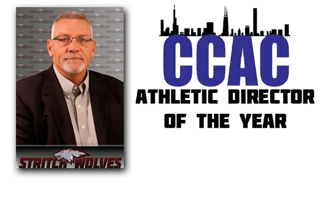 Pat Clemens Was Selected By His Peers As The CCAC Athletic Director of the Year