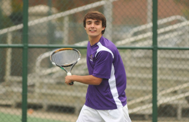 Olivet Nazarene's Oscar Mancineiras-Cornella was named the CCAC Men's Tennis Player of the Year on Thursday.