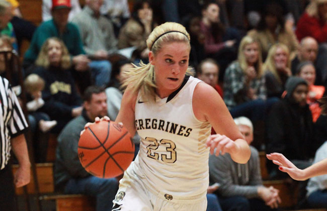 Cassidy Deno totaled 25 points for Purdue Calumet on Friday night.
