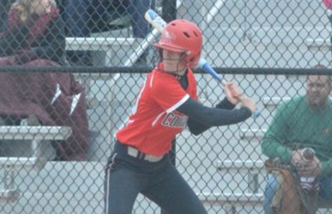 Rebeka Ferguson authored three hits and scored three runs in Saint Xavier's win.