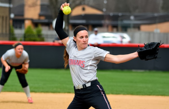 Junior Nicole Nonnemacher - 2015 NAIA National Pitcher of the Year