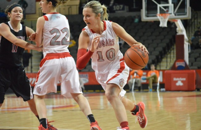 Senior Morgan Stuut - One of four national finalists for the WBCA NAIA Player of the Year award