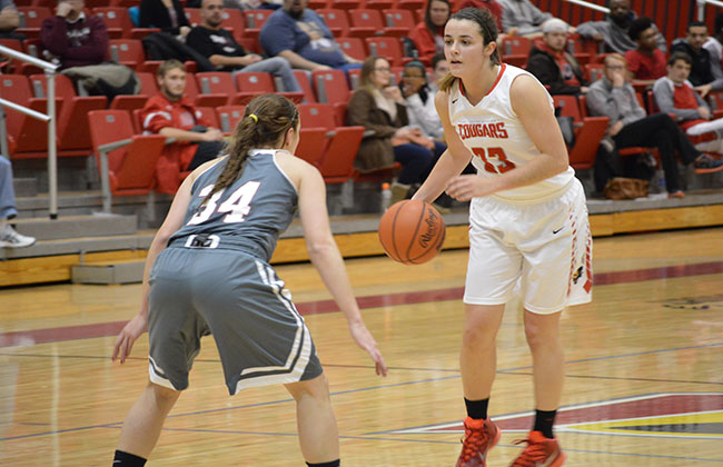Mikayla Leyden just missedd out on a triple-double in Saint Xavier's opening-round win Wednesday night.