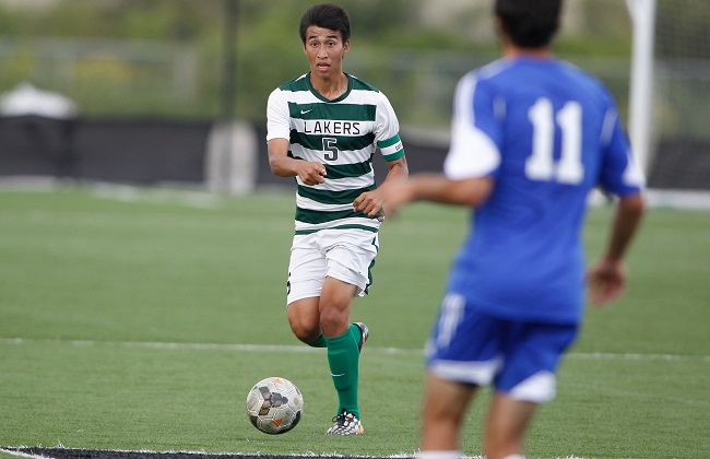 Luis Ortiz helped Roosevelt cruise to a 5-1 victory Wednesday with his goal and two assists.