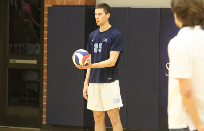 St. Ambrose's Ryan Mahl has been named the inaugural CCAC Men's Volleyball Player of the Year.
