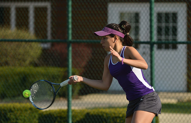 Olivet Nazarene's Priscila Nunez was named the CCAC Women's Tennis Player of the Year on Monday.