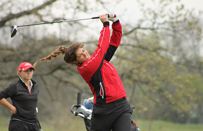 Cardinal Stritch's Hannah Stradling was named the CCAC Women's Golfer of the Year on Wednesday.