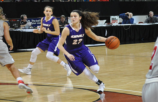 Abbey Hengesbach tallied a career-high 39 points in ONU's win on Friday night.