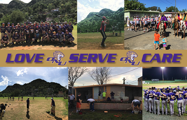 ONU Baseball served the people of Arecibo, P.R. on a mission trip from January 5-9