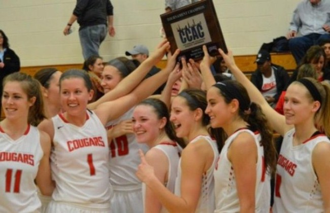 The No. 3 SXU women's basketball team beat No. 1 St. Francis (Ill.), 88-64, for its first CCAC Tournament title since 2012