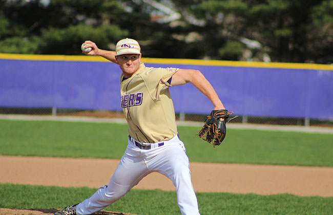Nick Campe kept Olivet Nazarene's playoff run alive with his seven innings of work on Sunday.