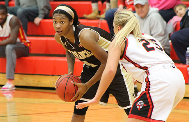 Charnelle Reed and St. Francis continue their march to a perfect season as the favorite in the upcoming CCAC Tournament