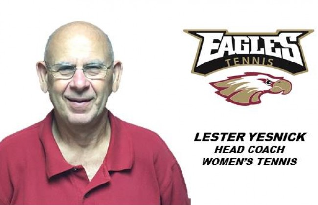 Coach Yesnick brings a wealth of tennis experience to the Eagles' program!